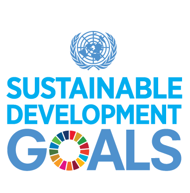 E SDG logo with UN Emblem square rgb